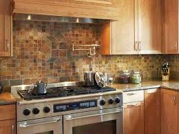kitchens with tile backsplashes delighted rustic kitchen backsplash tile cerendipitystheone rustic