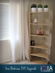 diy ikea bookcase re do lifeabsorbed