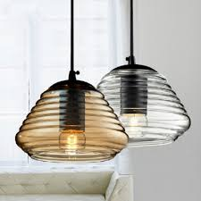 Colored Glass Pendant Lights Glass Pendant Light In Short Size Amber Colored Beautifulhalo Com