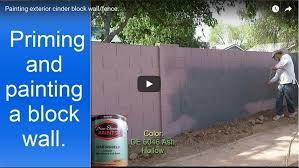 painting concrete block walls in phoenix az