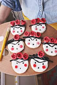 frida kahlo sugar cookies frida kahlo sugar cookies and sugaring