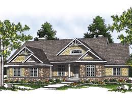 craftsman style ranch home plans gastons trail craftsman home plan 051d 0433 house plans and more