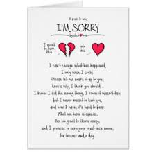 sorry greeting cards zazzle