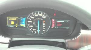 2011 Ford Edge Limited Reviews 2011 Ford Edge Dashboard Tour Youtube