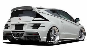 tuner honda silk blaze creates 271hp honda cr z with hks turbocharger