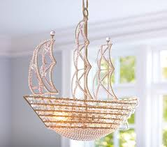 pirate ship light fixture high vs low crystal ship chandelier