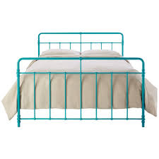 Turquoise Bed Frame Home Decorators Collection Pennington Turquoise King Bed Frame