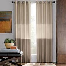 Sheer Curtains Grommet Top Studio Trio Grommet Top Sheer Curtain Panel 50wx95l Warm Spice