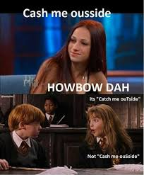 Harry Potter Meme - harry potter cash me ousside howbow dah know your meme