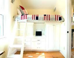 bureau placard lit avec placard lit mezzanine placard lit en hauteur avec bureau