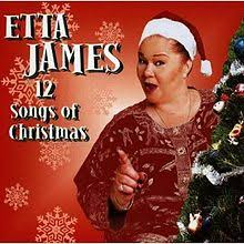 christmas photo albums 12 songs of christmas etta album