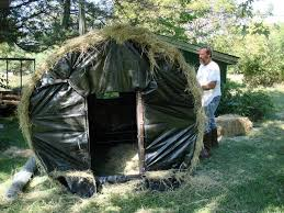 Bow Hunting From Ground Blind 64 Best Deer Blinds Images On Pinterest Deer Blinds Hunting
