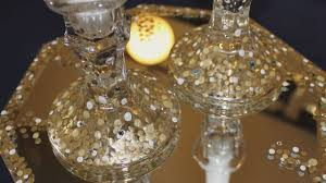 how to craft sparkling candle holders jewish crafts with abbey