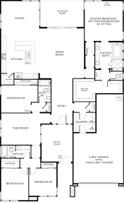 3 Bay Garage Plans by Homesite 46 Keystone Las Vegas Pardee Homes