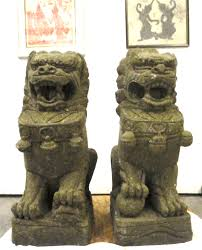 foo dog statues size foo dog guardian lion sculptures carved buddhist