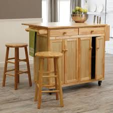 Wheeled Kitchen Islands Interesting Kitchen Island On Wheels With Seating Verambelles