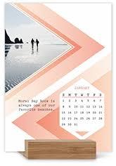 Desk Calendar With Stand Easel Calendars Shutterfly