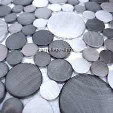 d oucher un ier de cuisine plaque mosaique aluminium pour credence cuisine sdb et 1m