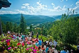 outdoor wedding venue gorgeous in rollinsville colorado the