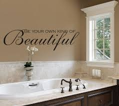 bathroom wall decor ideas be your own of beautiful wall decals bathroom amandas
