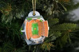 Of Tennessee Ornaments Clemson Stadium Ornament 2016 Zverse 3d Printed Licensed Products