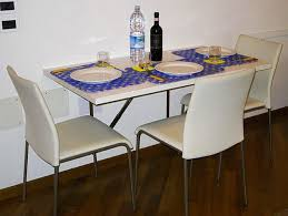 Dining Tables  Wall Mounted Dining Table Foldable Furniture Space - Wall mounted dining table designs