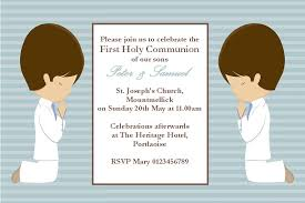 communion invitations boy boy communion invitations personalised communion invitations