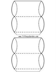 gift box free printable round box u0026 paper bow template from