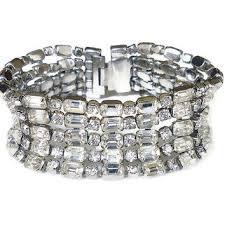 silver rhinestone bracelet images Best kramer rhinestone bracelet products on wanelo jpg