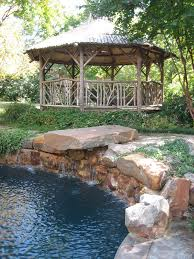 Gazebo With Awning Gazebo Designs For Backyards Patio Tropical With Awning Brick