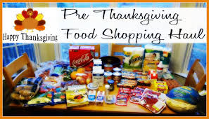 happy thanksgiving food pre thanksgiving food shopping haul youtube