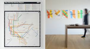 Ny Mta Map Massimo Vignelli U0027s Signed 2012 Nyc Subway Diagram Cool Hunting