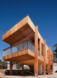 a beach house in mornington australia is actually made up of two