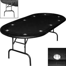 poker table with folding legs folding leg poker table wood racetrack stainless steel cup holders
