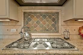 backsplash tile for kitchens decorative pebbles interlocking mesh