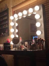 Wall Vanity Mirror With Lights Fabulous Vanity Mirror With Lights See Yourself Clearly Lighted