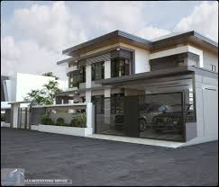 modern design houses 2 storey house and home design