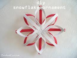 diy christmas ornament snowflake ornament snowflake ornaments