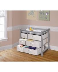 Sleigh Style Changing Table Sweet Deal On Sleigh Style Baby Changing Table W 6 Baskets In