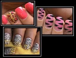 3 animal print nail designs beginners nail art youtube