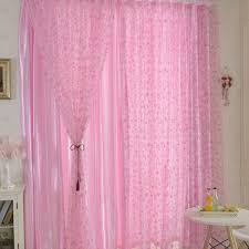 Half Door Panel Curtains New Circle Pattern Room Voile Window Curtains Sheer Panel Drapes