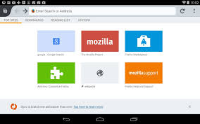 firefox for android firefox for android beta lets you add your own home screen pages