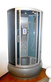 cabine de avec siège intégré la marquise salle de bain privative cabine de futuriste