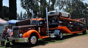 gmc semi truck just a car guy coolest transporter i u0027ve come across in a long