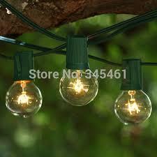 g40 string lights 40sets 1000bulbs clear globe g40 string lights set with 40 25 g40