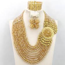 gold jewelry sets for weddings aliexpress buy wedding jewelry set new dubai