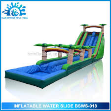 size inflatable water slide size inflatable water