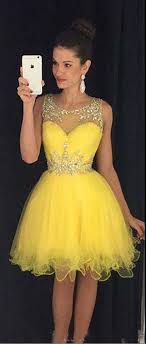 yellow dress best 25 yellow cocktail dresses ideas on