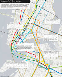 Train Map New York by The Futurenycsubway 2nd Ave Subway Future U2013 Vanshnookenraggen
