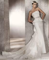 48 best peplum tiered pickup u0026 gathered wedding dresses images